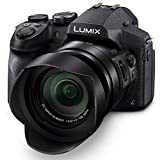 Panasonic LUMIX DMC-FZ300K 12.1 Megapixel, 1/2.3-inch Sensor, 4K Video, Cuerpo Resistente al Agua y Polvo, Lente Leica DC 24X F2.8 Zoom (Negro)