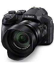 Panasonic LUMIX FZ300 Long Zoom Digital Camera Features 12.1 Megapixel, 1/2.3-Inch Sensor, 4K Video, WiFi, Splash & Dustproof Camera Body, LEICA DC 24X F2.8 Zoom Lens - DMC-FZ300K - (Black) USA photo