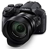 PANASONIC Lumix FZ300 Long Zoom Digital Camera features 12.1 Megapixel, 1/2.3-inch Sensor, 4K Video, WiFi, Splash & Dustproof Camera Body, Leica DC 24X F2.8 Zoom Lens - DMC-FZ300K - (Black) USA