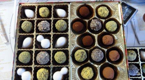 Handmade Belgium Chocolate Truffles