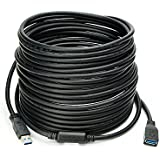 Newnex USB 3.0 16 Meters/52.4 feet, USB A to A Female Active Repeater Extension Cable