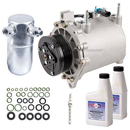 Clutch With Complete A/C Repair Kit For Cadillac Seville - BuyAutoParts 60-81240RK New (Cadillac Seville Ac Compressor)