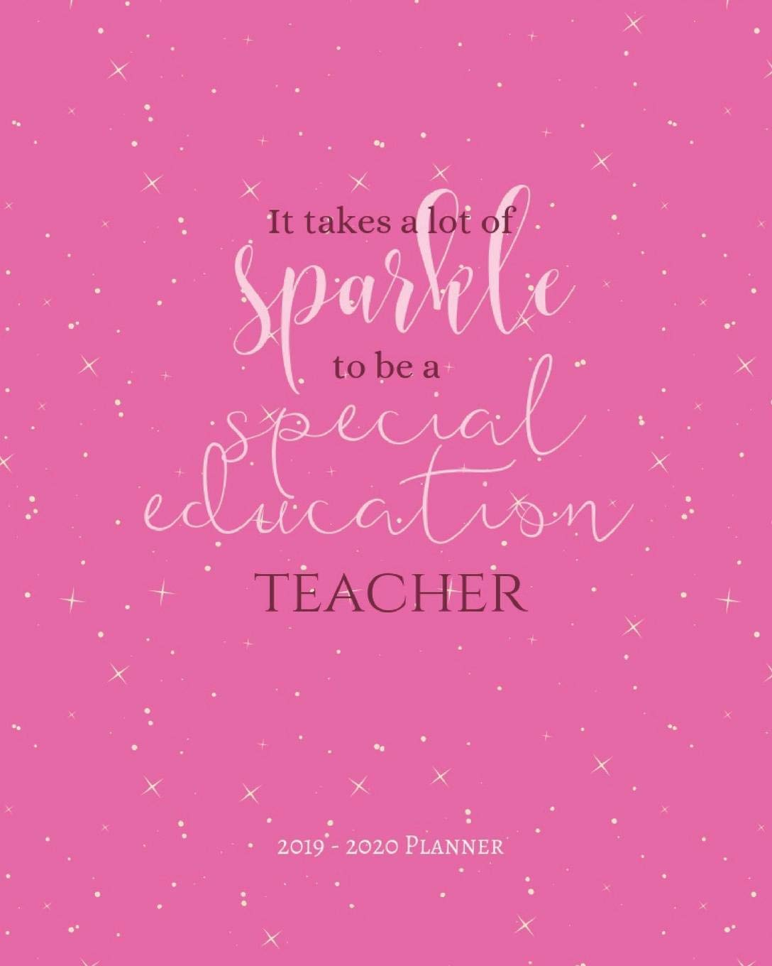 it takes a lot of sparkle to be a special education teacher