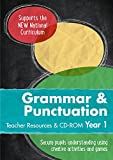Year 1 Grammar and Punctuation Teacher Resources with CD-ROM
