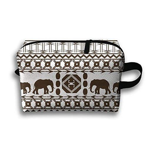 Thai Elephant Day Popular Lightweight Travel Storage Bag Large Capacity Toiletry Cosmetic Makeup Organizer by MYZZ