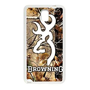 Browning White samsung galaxy note3 case