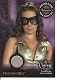 Charmed Power of Three Holly Marie Combs as Piper Super Hero Costume Pieceworks Trading Card #PW-3