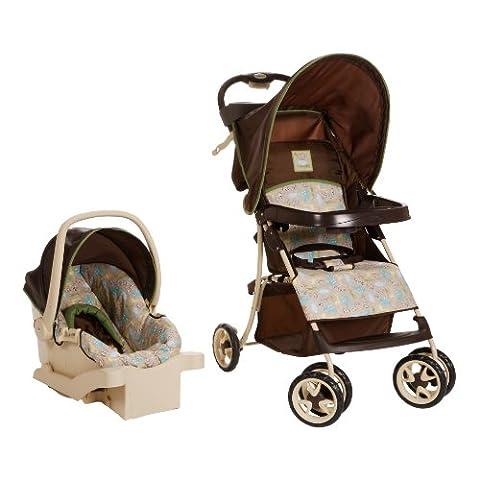 Cosco Juvenile Sprinter Go Lightly Travel System, Kontiki (Discontinued by Manufacturer) - Cosco Car Seat Base