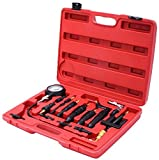 K&A Company Diesel Engine Compression Tester Test Set Kit 0-1000 PSI Copper Steel New with Case
