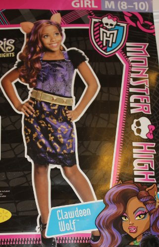 MONSTER HIGH - CLAWDEEN WOLF COSTUME - S (4-6)