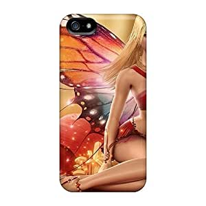 Brand New 5/5s Defender Case For Iphone (blonde Butterfly)