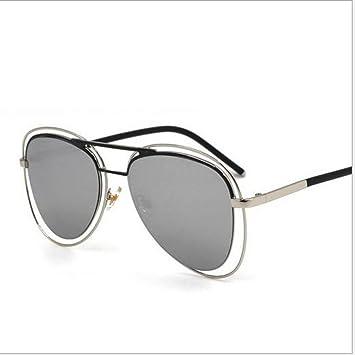 GAOQIANG Doppelte Rahmen-Retro- Kröten-Sonnenbrille-Männliche und Weibliche Sonnenbrille,A3