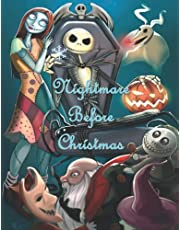 The Níghtmare Before Chrístmas: 2021 The Níghtmare Before Chrístmas Coloring Book For Kids And Adults (Unofficial)