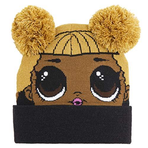L.O.L. Sorpresa. Conjunto de bufanda y guantes de punto fino, gorro de punto cálido, LOL Dolls Sombreros de invierno…