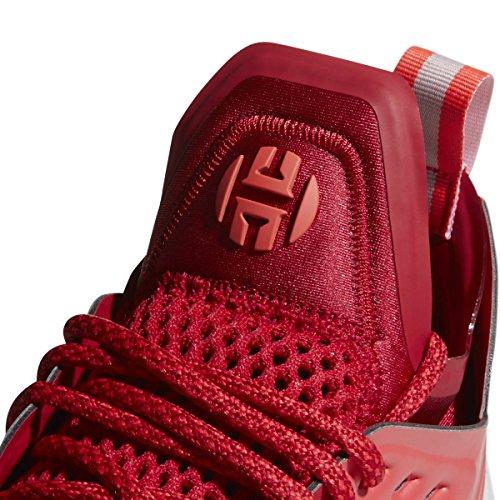 Adidas Harden Vol.2 Schoen Basketbal Van Mensen Vette Rode-shock Red-light Grijs