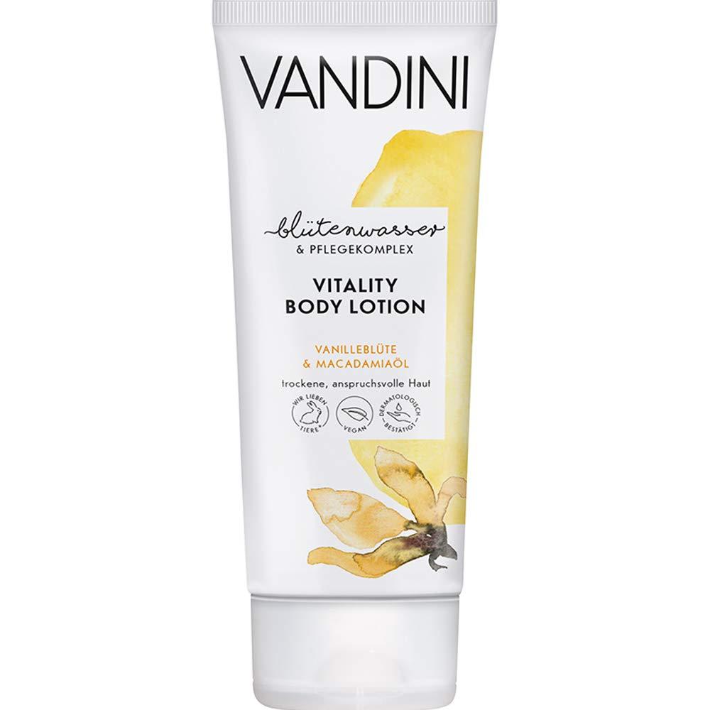 VANDINI Vitality Body Lotion Vanilla Blossom & Macadamia Oil 200 ml