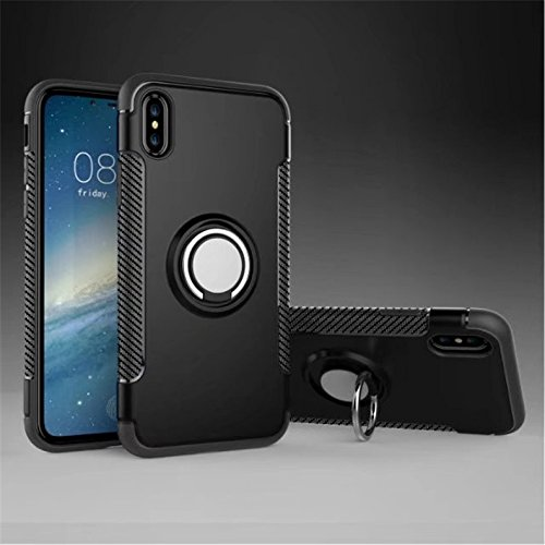 Amazon.com: Case for Iphone 8/7 funda protectora anillo de ...