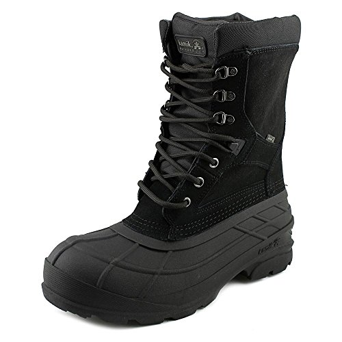 Kamik Men's Nationplus Boot (12 D(M) US, Black)
