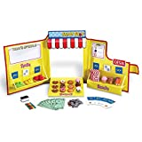 : Learning Resources Pretend & Play Snack Shop Play Food Set