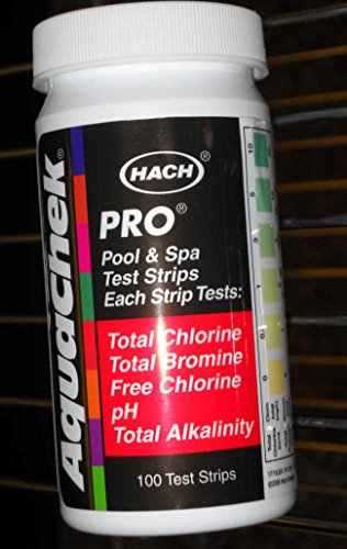 AquaChek 511710 5-in-1 Chlorine Test Strips