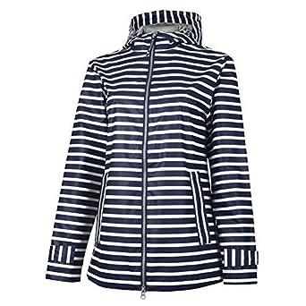Charles River Apparel Womens New Englander Printed RAIN Jacket