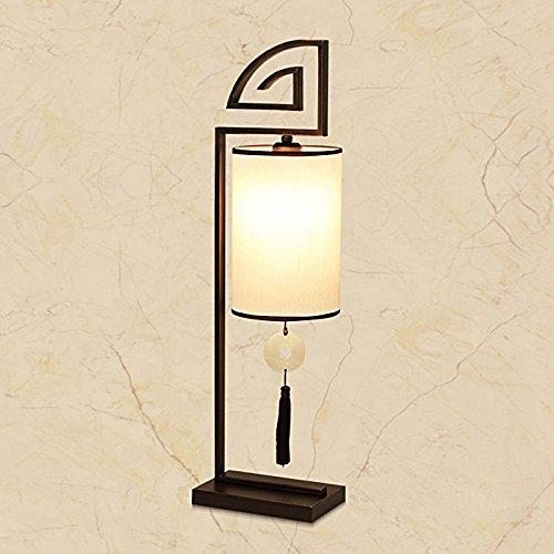 ... chino antiguo salón minimalista estudio-dormitorio hotel mesilla lámpara Lámpara de mesa 20*12*70cm+ bombillas LED GRATIS: Amazon.es: Iluminación