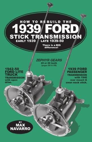 - How to Rebuild the 1939 Ford Stick Transmission. Early 1939, Late 1939-50. There Is a Big Difference! (#1)
