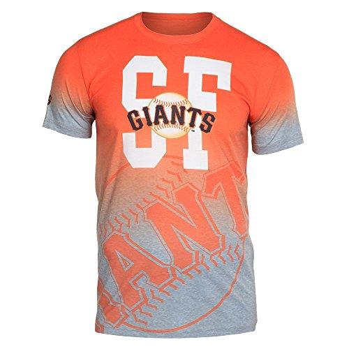 (San Francisco Giants Gray Gradient Tee Large)