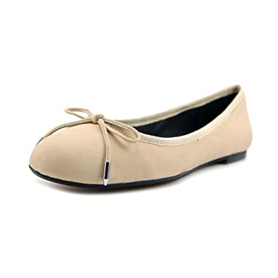 Dolce Vita Women's Brae Vanilla Leather Flat 9.5 M
