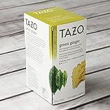 Tazo Green Ginger Tea, 24 Tea Bags