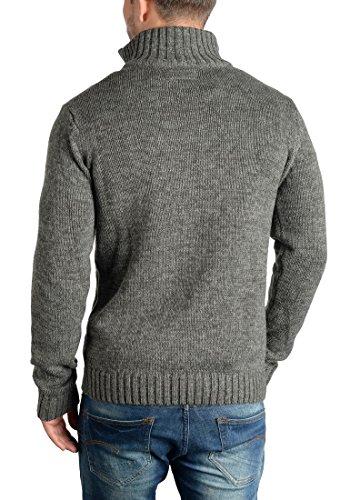 scuro grigio uomo Pomeroy 2890 Cardigan solido 1zq0TvxIZ