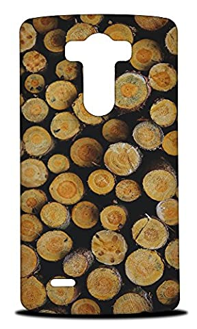 Foxercase Designs Cool Wood (Not Real Wood) #3 Hard Back Case Cover for LG G3 (Real Wood Cover For Lg G3)