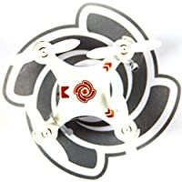 RC Quadcopter Helicopter Mini Remote-controlled Rechargeable Arm Drone 4 Channels 6 Axis Gyro 2.4 Ghz White