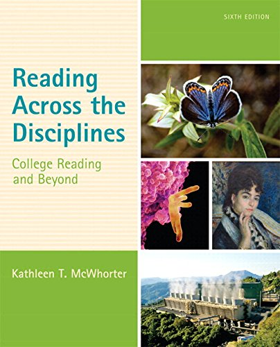 Reading Across the Disciplines: College Reading and Beyond Plus MyLab Reading with eText -- Access Card Package (6th Edi