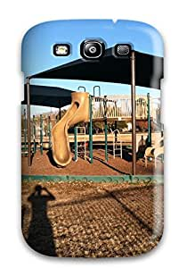 First-class Case Cover For Galaxy S3 Dual Protection Cover Dallas City