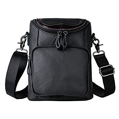 37b2686bb1 70%OFF Genda 2Archer Men Leather Travel Belt Pack Small Shoulder Messenger  Bag