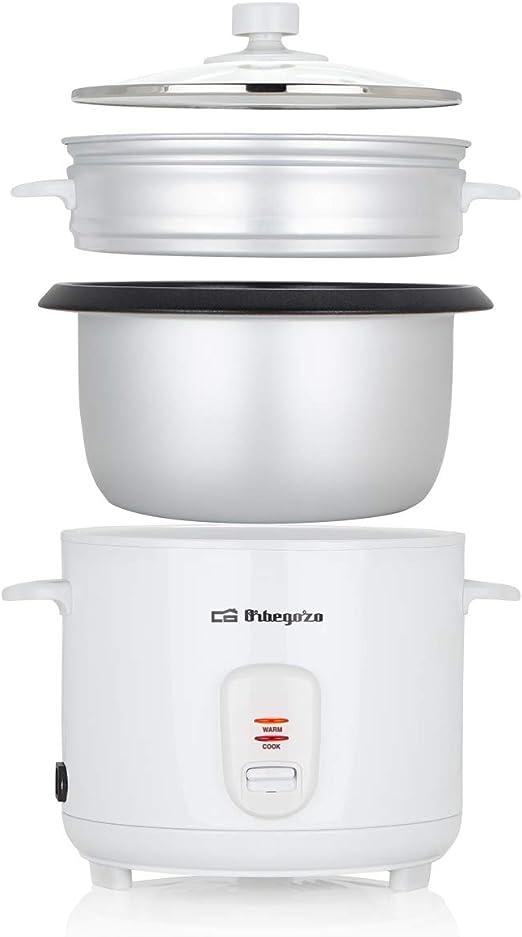 Orbegozo CO 3031 - Arrocera y vaporera, 1,8 litros de capacidad ...