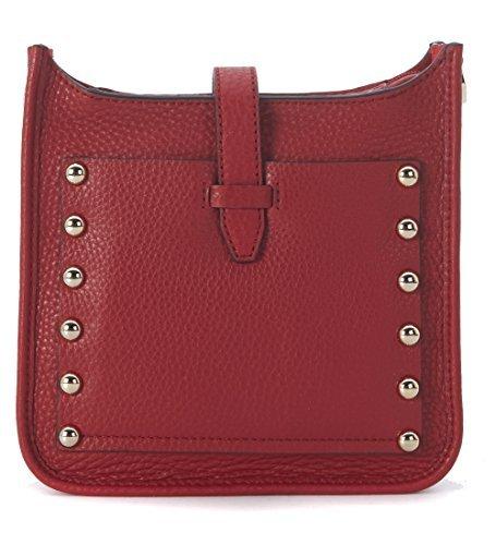 Rebecca Minkoff Women's Mini Unlined Feed Bag, Deep Red, One Size