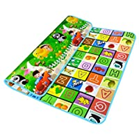 Garwarm 7159inches Extra Large Baby Crawling Mat Playmat Foam Blanket Rug for in/Out Doors