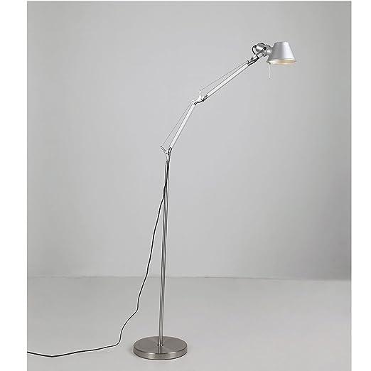 Moderna Lámpara De Pie De Hierro Forjado Minimalista Lámpara De ...