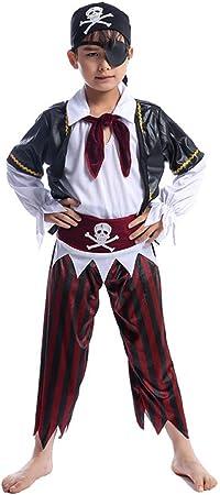 Disfraz De Halloween para Niños Disfraz De Pirata para Niños para Niños Conjunto De Disfraces, S(5-7): Amazon.es: Hogar