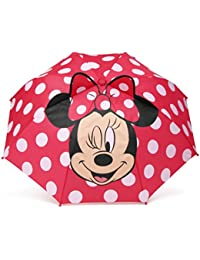 Girls' Little Character Umbrella, Minnie Mouse, One Size