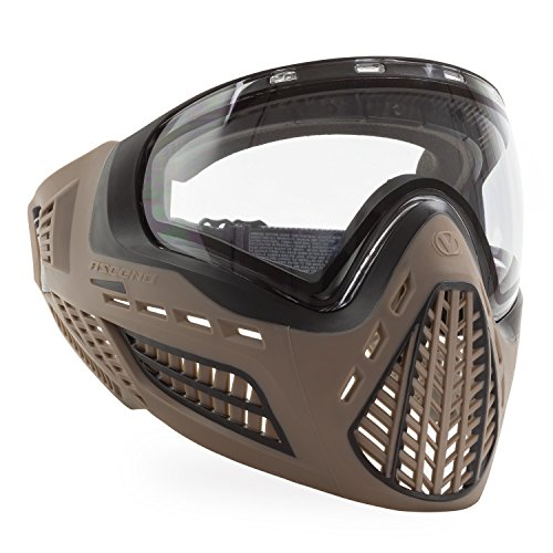 Virtue VIO Ascend Thermal Paintball Goggles with Dual Pane Lens (FDE Clear) ()
