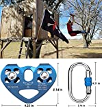 Youngneer Climbing Zip Line Pulley 30KN Double