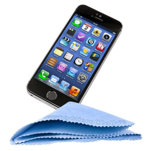 """MightyMicroCloth Microfiber Eyeglass Cleaning Cloths – Vinyl Travel Pouch – Lens Cleaner for Glasses, Camera Lenses, Tablets, Phone Screens, & Electronics – 12 Pack Royal/Blue (6""""x7"""") by MightyMicroCloth (Image #5)"""