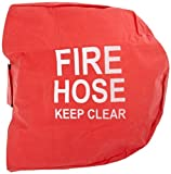 Moon 138-29 Poly Cotton Swing Fire Hose Reel Cover for use with Hose Reel 1430-3, Mildew Resistant, 7-1/2'' Height x 25'' Width x 25'' Length