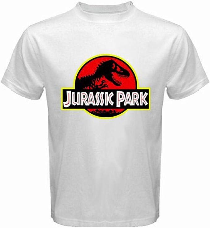 Camiseta niño Jurassic Park Blanca: Amazon.es: Ropa y accesorios