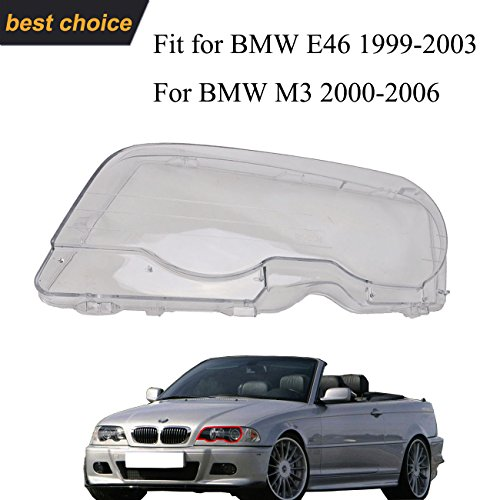 Fits 1999 2000 328i Bmw E46 2001 2006 2005 325ci E46: Compare Price To E46 Headlights Covers