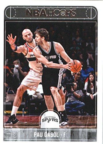 2017-18 Panini Hoops Basketball #194 Pau Gasol Spurs
