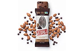 Perfect Bar Original Refrigerated Protein Bar, Dark Chocolate Almond, Almond Butter, 12g Whole Food Protein, Gluten Free  and Non-GMO, 2.2  Oz. Bar (Box of 8)
